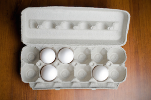 Fill your empty egg carton | foodbloggerpro.com